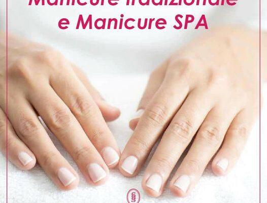 manicure tradizionale e manicure spa torino